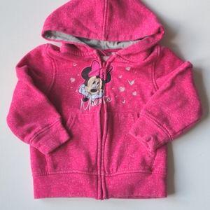 Minnie Mouse Pink Sweatshirt Hoodie * 3 Toddler